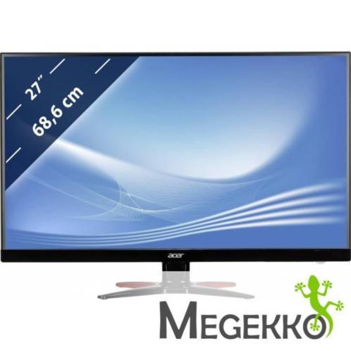 """Acer G6 GF276Abmipx 27"""" Full HD TN Mat Zwart, Rood compute.."""
