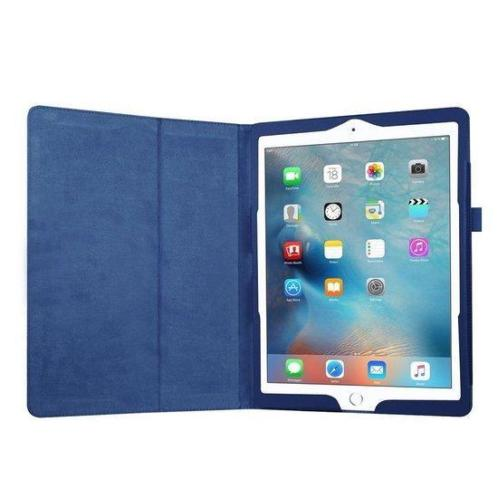iPad 9.7 (2017 / 2018) book case hoes - blauw