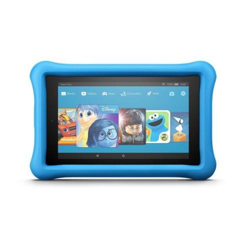 Amazon Fire 7 8GB met wifi, Kids Edition, roze en blauw