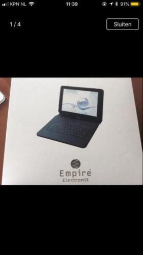 Empire tablet te gebruiken voor onderdelen