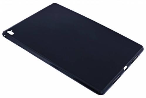 Ntech - Zwart Soft Back Cover TPU -Silicone Hoesje voor de