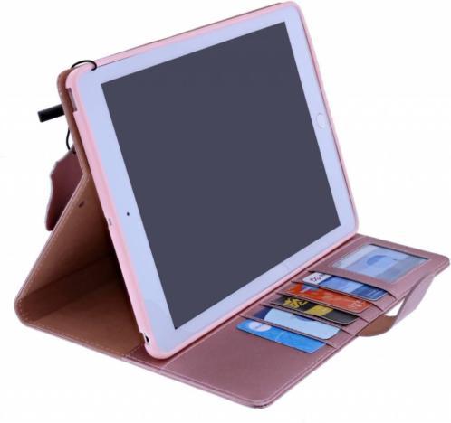 Ntech iPad 2, 3 , 4 Premium Luxe Hoes Folio Cover hoesje Ro
