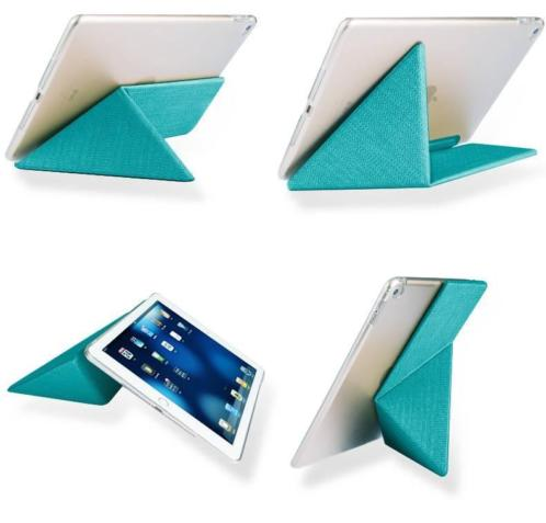 OU Case Blauw TPU Leather Flip Cover Met Standaard iPad Pro