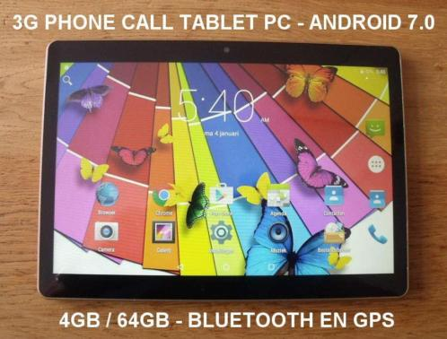 3G Phone Call Tablet PC model B801 Android 7.0 4GB / 64GB