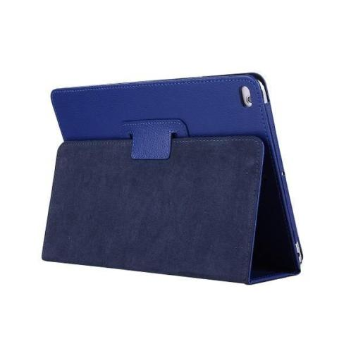 Stand flip sleepcover hoes - iPad 9.7 (2017/2018) - blauw