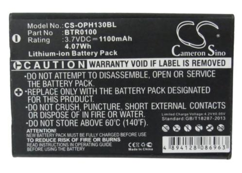 CS Accu Batterij Opticon PX001 e.a. - 1100mAh 3.7V