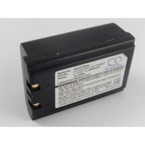 CS Accu Batterij voor Casio DT5023BAT - 3600mAh 3.7V