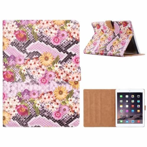 Ntech iPad 2 / 3 / 4 Margrietjes Design Booktype Kunstleer