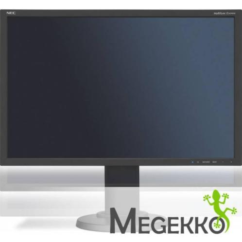 "NEC MultiSync E245WMi 24"" Full HD PLS Zwart"