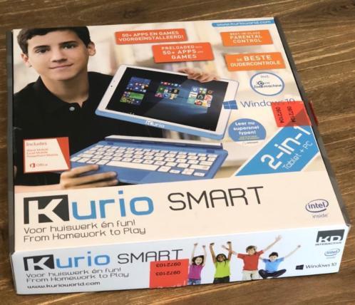 Kurio smart 2-in-1 laptop tablet windows 10 als nieuw