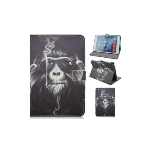 iPad mini 4 - hoes, cover, case - PU leder - PC - Monkey