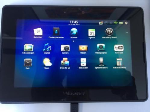 Blackberry Playbook 16GB met hoes