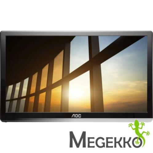 "AOC I1659FWUX 15.6"" 1920 x 1080Pixels Multi-touch Zwart to.."
