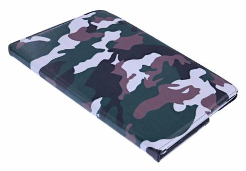 Ntech iPad 2017 (9.7) Camouflage Design Case Cover 360° Dra