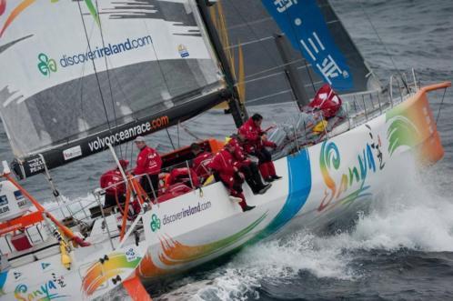 Noordzeezeilen op een VolvoOcean Racer Scheveningen/Breskens