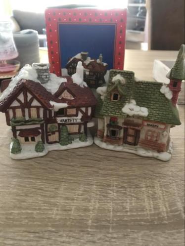 Leuke kersthuisjes klein