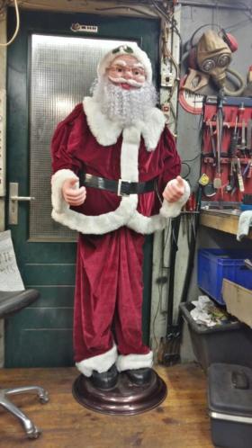Mooie kerst man kan in schuifen en uit schuifen hoogte 175