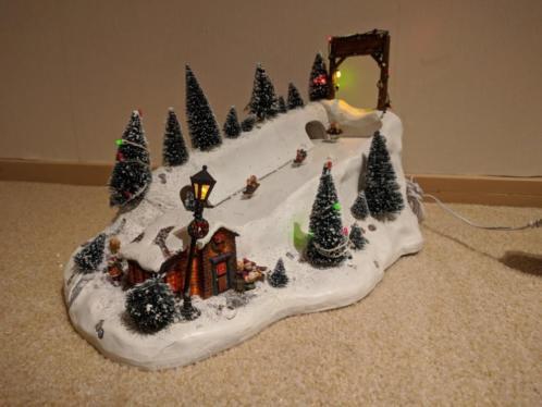 Kerstdorp animatie