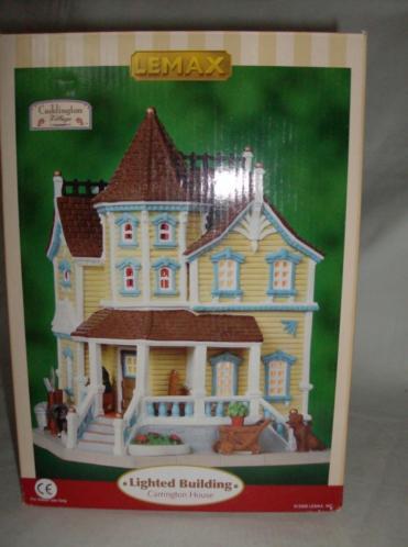 Lemax Kersthuis Carrington House D48