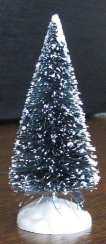Bomen van LEMAX voor in een Kerstdorp / Miniatuuropstelling