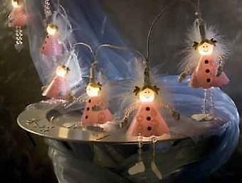 Schattige roze kerstengeltjes van 27,95 NU 17,95 E +garantie