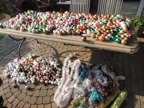Grote partij kerstballen!!!Heel heel veel!!!