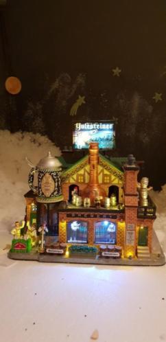 Lemax kersthuis Yulesteiner Brewery ( bierbrouwerij )