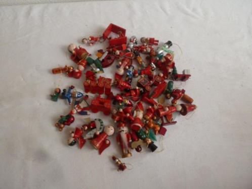 (A20) Verzameling kerstboomhangers 50 stuks