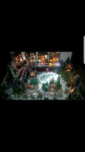 Compleet Lemax kerstdorp