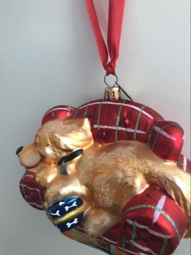 Radko kerst ornament hond
