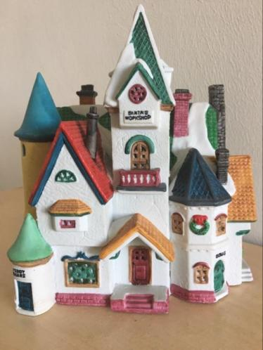 Lemax Santa Wonderland huis