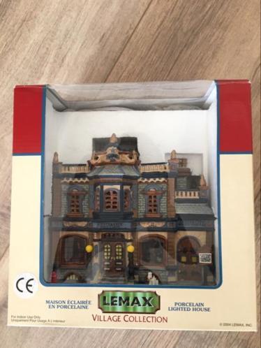 Lemax compleet kerstdorp alles in 1 koop
