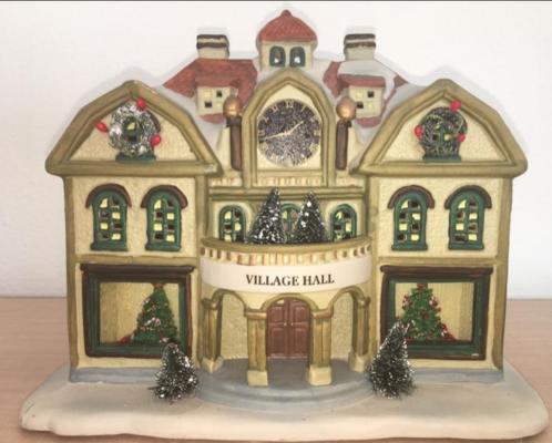 Dickensville (kersthuisje) Village Hall