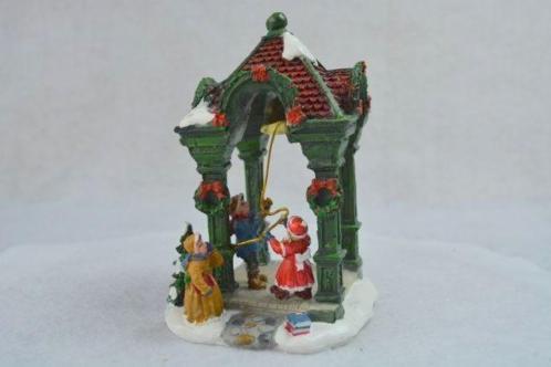 Kerstdorp Kerstklok luiden