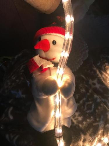sneeuwpop verlichting voor binnen of buiten