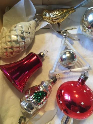 Oude kerstversiering kerstbal kerst