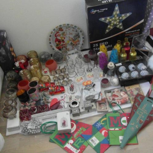 Partij Fraai nieuw Kerstversiering en lichtjes