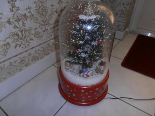 Leuk voor de kerst Snowing met muziek .