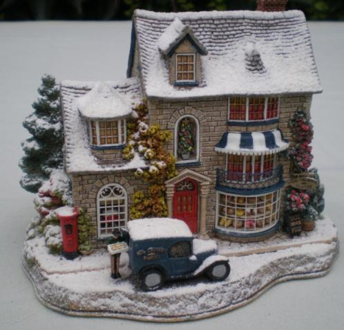 LILLIPUT LANE - 7 snowcottages en 1 kerkje