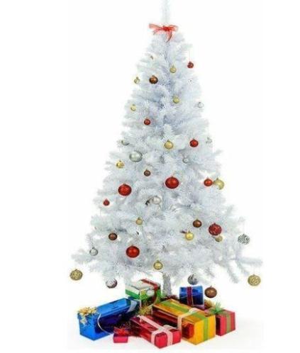 Mooi Kerstboom Wit 150cm
