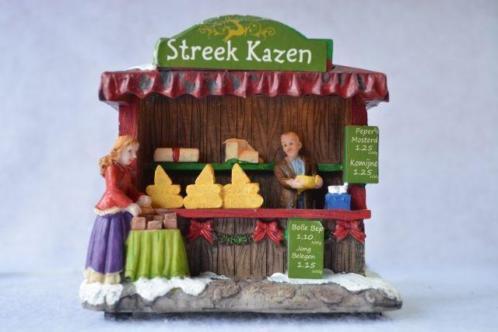 Typisch Hollands Kerstdorp Kazenverkoop
