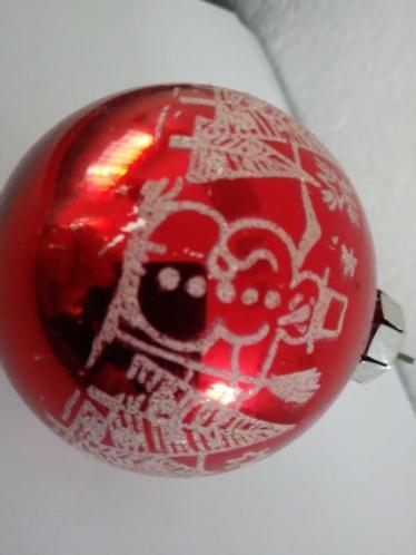 Kerstballen ornament versiering vintage