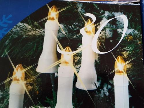 kerstboom verlichting kaarsjes voor buiten/binnenhuis