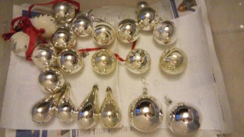 Kerstballen vintage