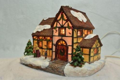 X-Mas Collection Kerstdorp Huis met Vakwerk
