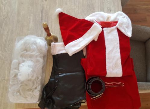 Kerstman pak compleet maat XL