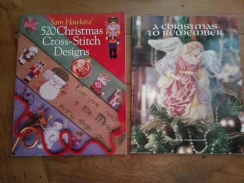 kerst borduur boeken