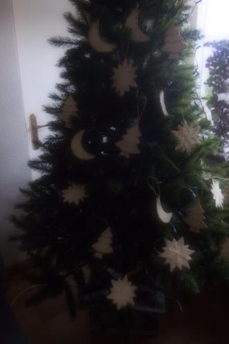Decoratie kerst kerstboom kerststuk