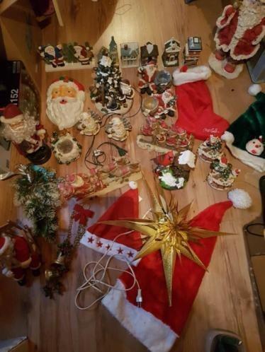 Diverse kerstspullen.