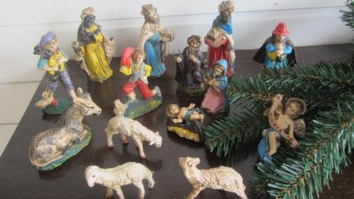 kerstgroep voor bij de stal 14 delig